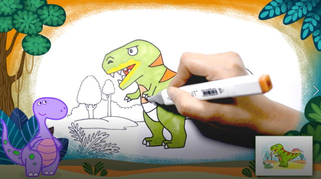 3-8岁恐龙科普认知创意课限时1元获得
