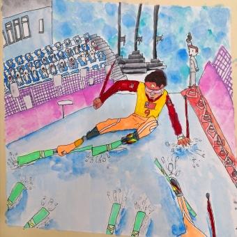 未来的滑雪冠军