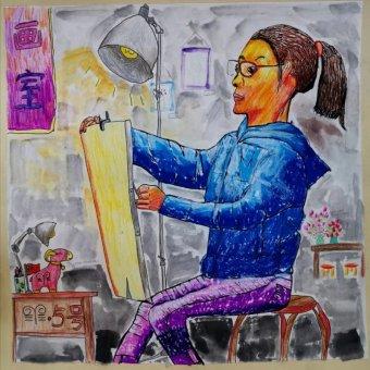 我要当一名画家