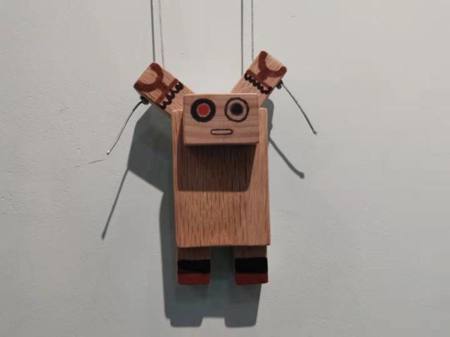 活学活用,教你做一个会爬绳子的木质机器人